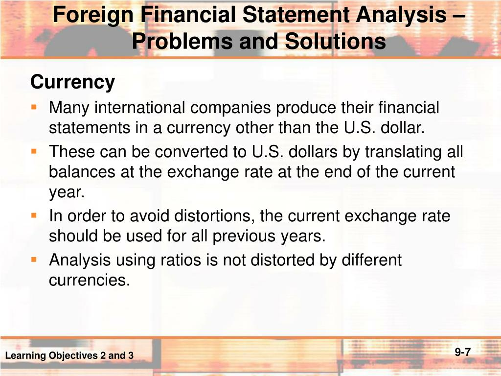 problems in financial statements and analysis pdf
