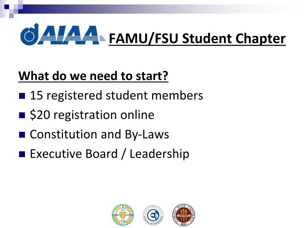 FAMU/FSU Student Chapter