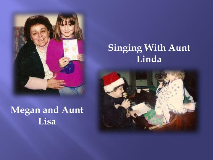 Singing With Aunt Linda