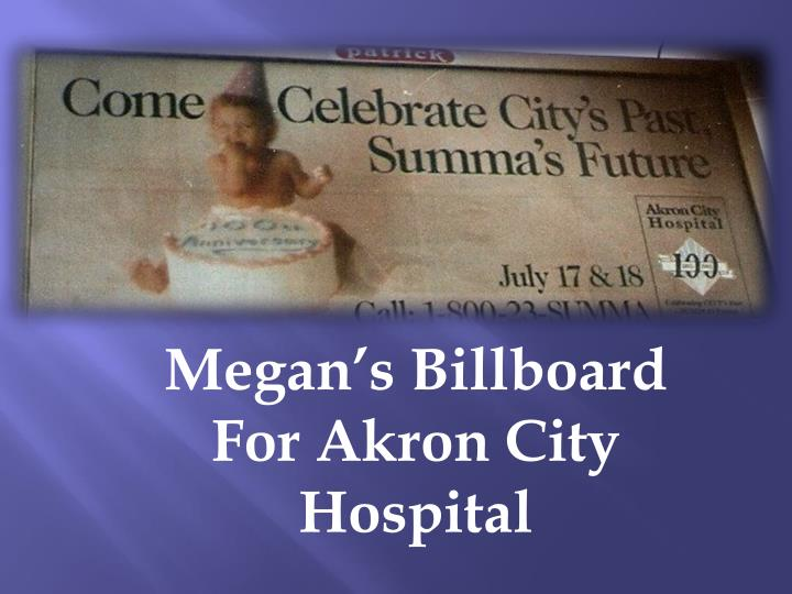 Megan's Billboard