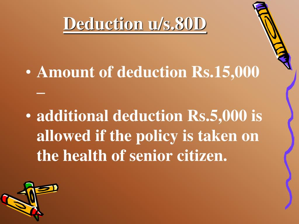 Deduction u/s.80D
