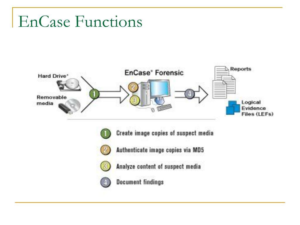 EnCase Functions