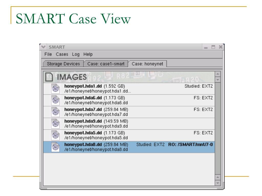 SMART Case View