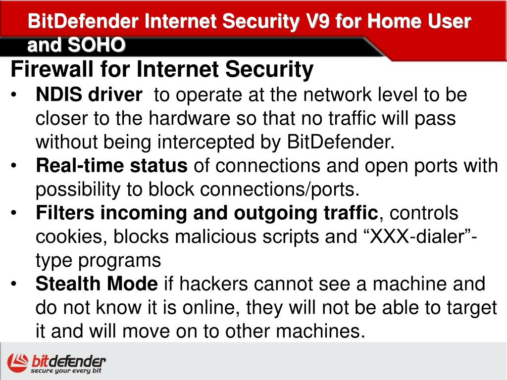 BitDefender Internet Security V9 for Home User and SOHO