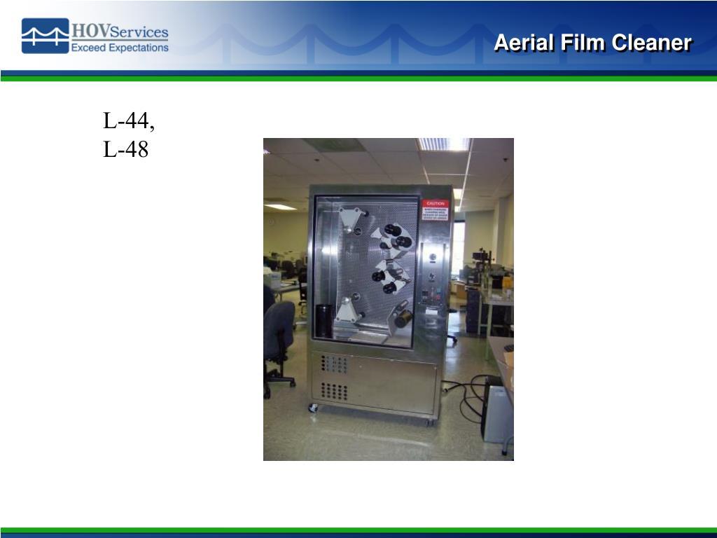 Aerial Film Cleaner
