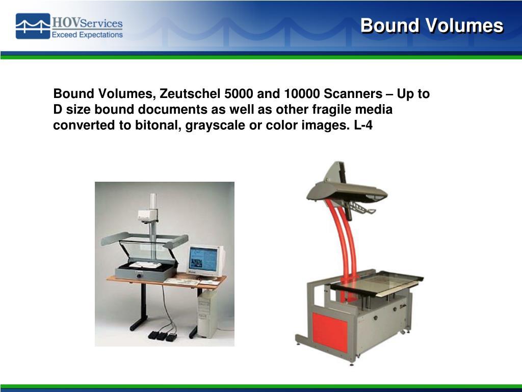 Bound Volumes