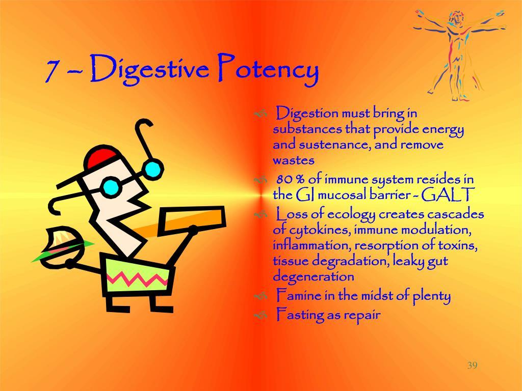 7 – Digestive Potency
