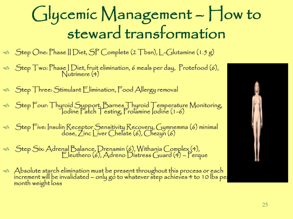 Glycemic Management – How to steward transformation