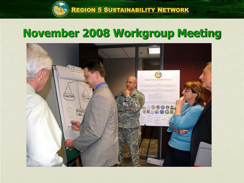 November 2008 Workgroup Meeting