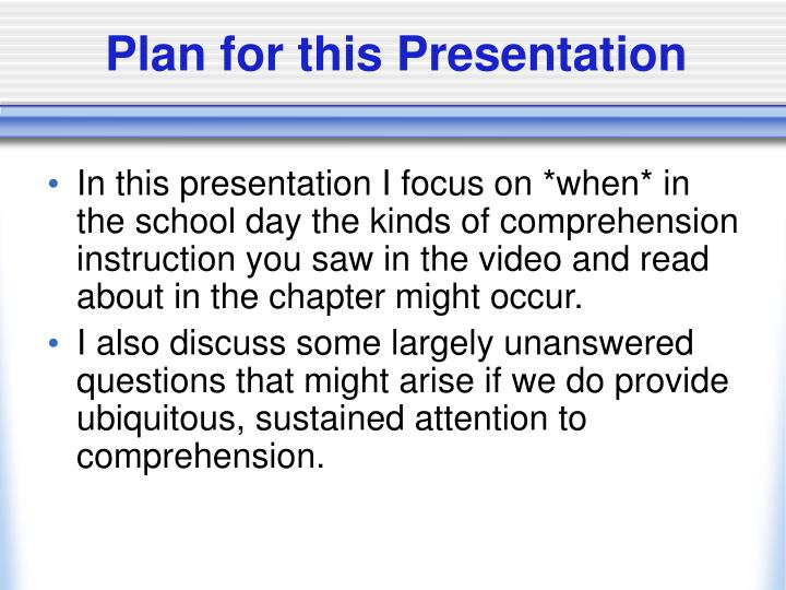 Plan for this presentation l.jpg