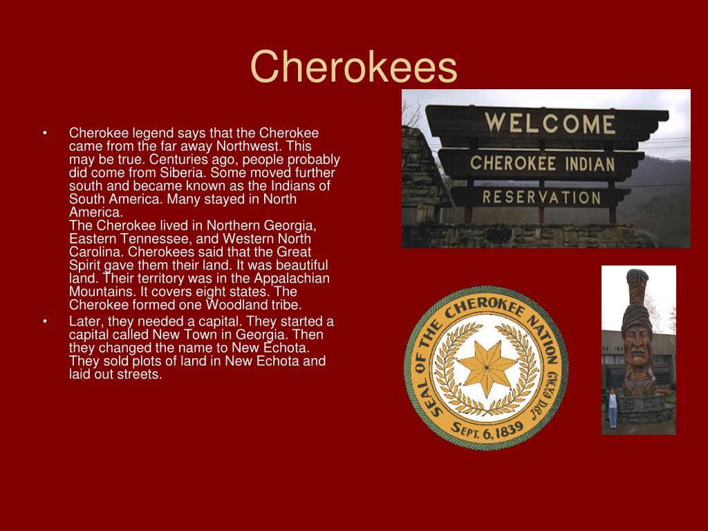 Cherokees