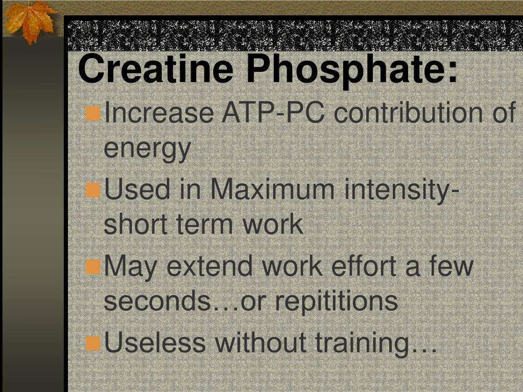 Creatine Phosphate: