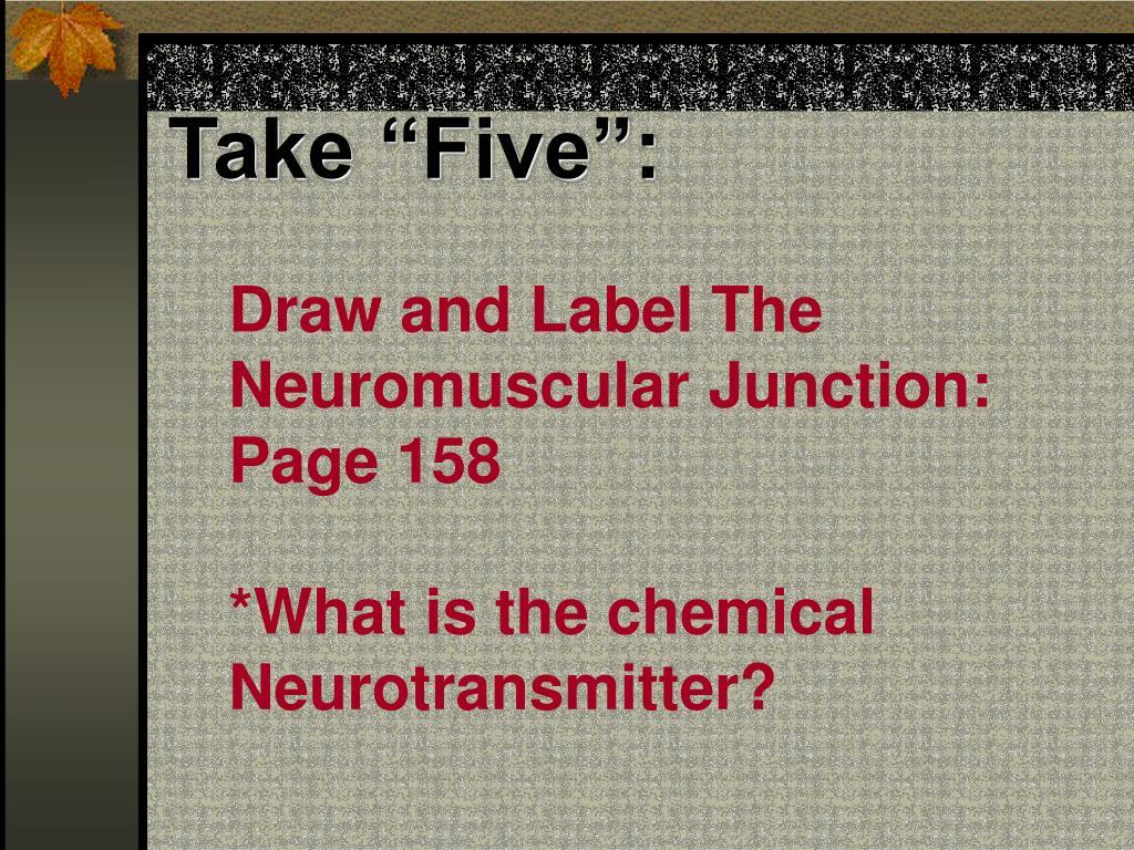 """Take """"Five"""":"""
