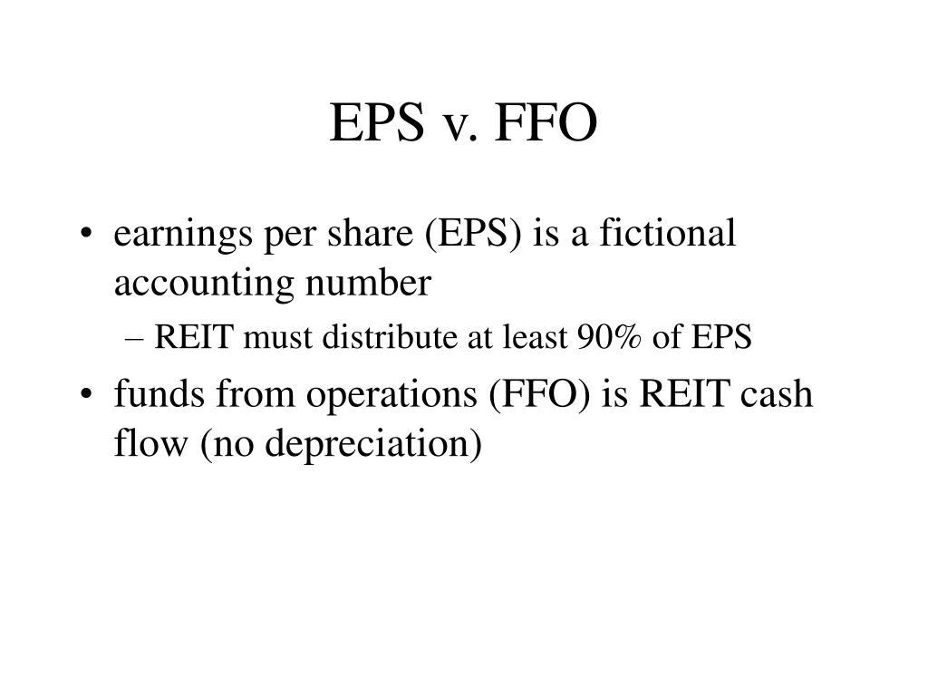 EPS v. FFO