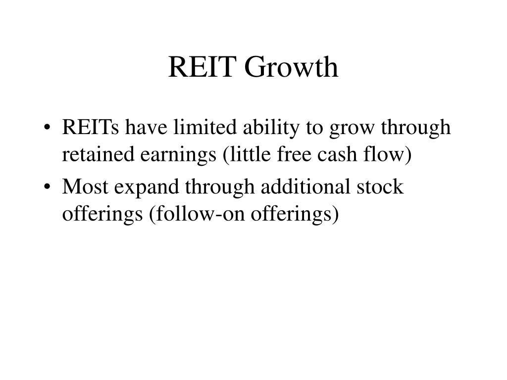 REIT Growth