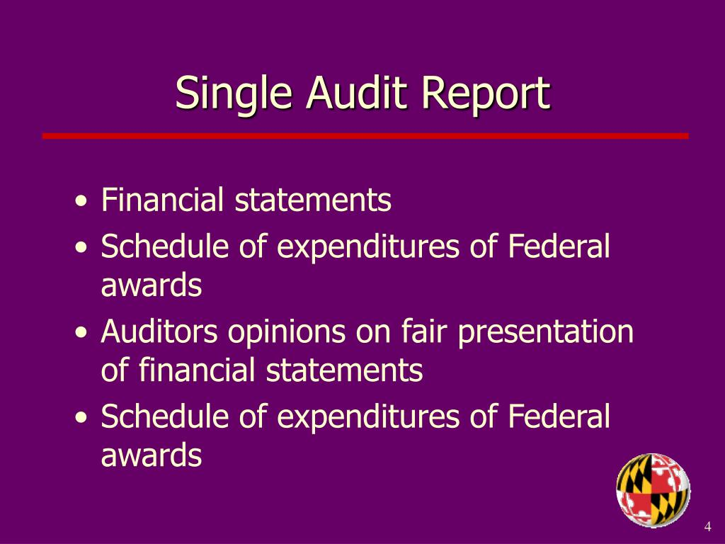 Single Audit Report