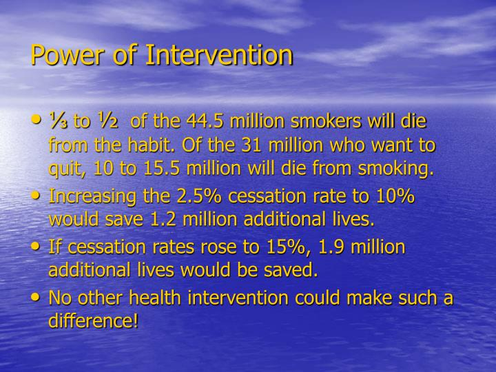 Power of Intervention