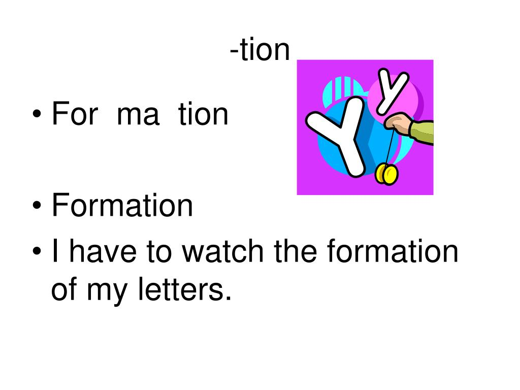-tion