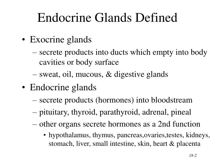 PPT - The Endocrine System General Functions of Hormones ...