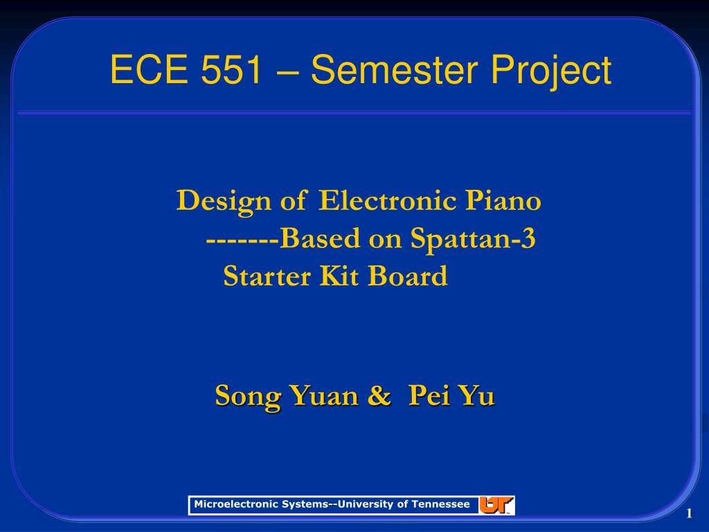 ECE 551 – Semester Project