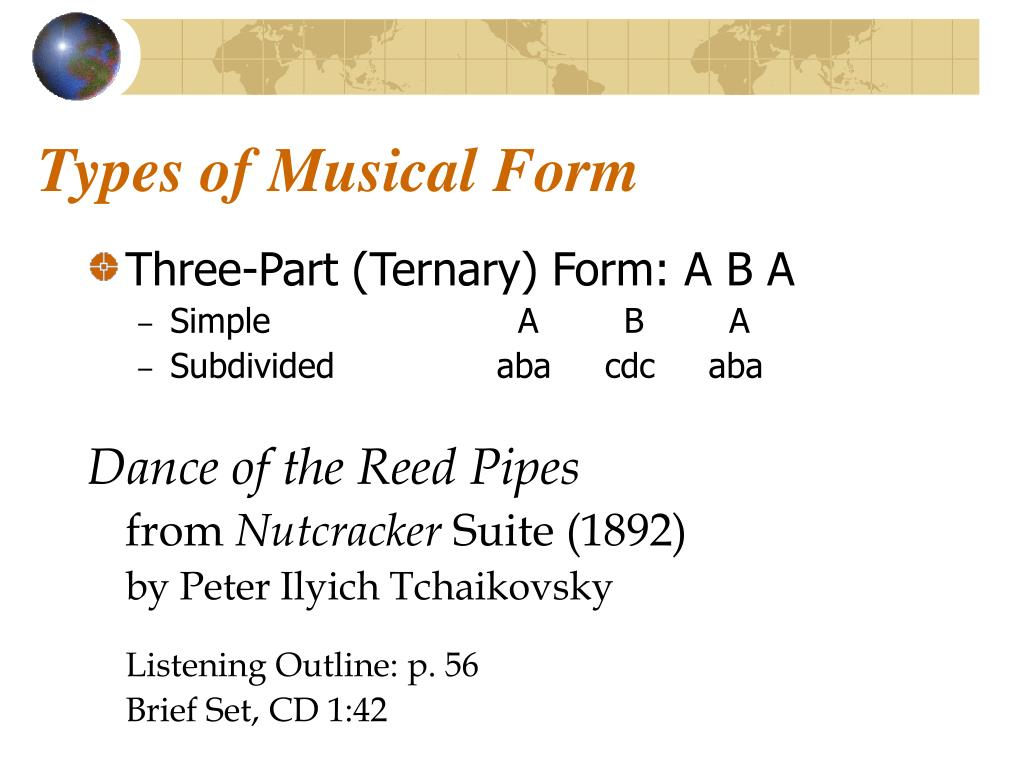 Types of Musical Form