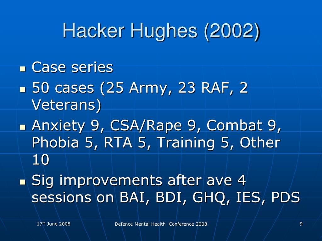 Hacker Hughes (2002)