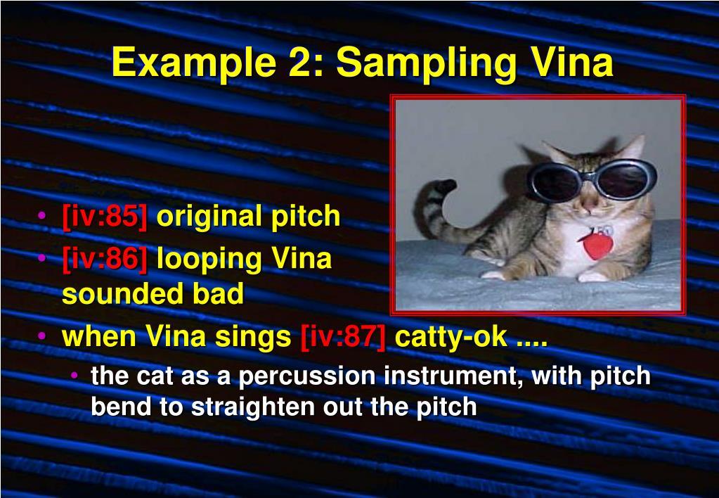 Example 2: Sampling Vina