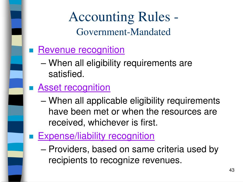government regulations accounting essay