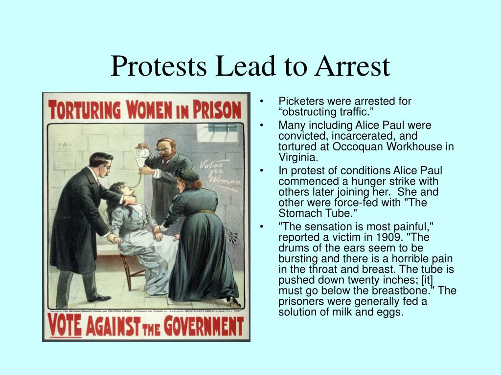 Protests Lead to Arrest