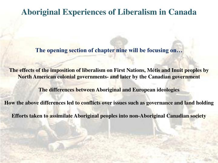 Aboriginal experiences of liberalism in canada l.jpg