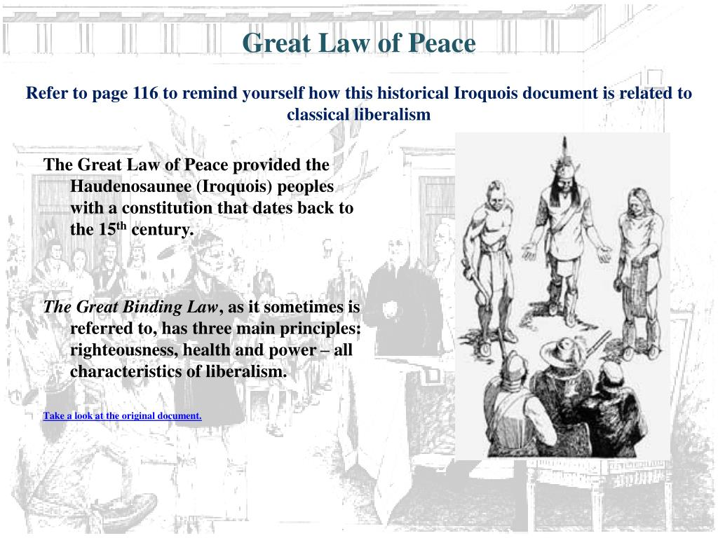 Great Law of Peace