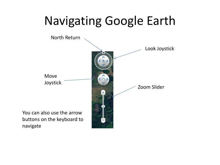 Navigating Google Earth