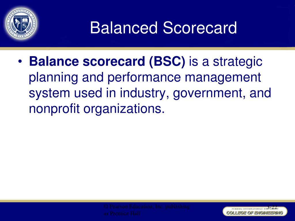 the design and implementation of the balanced scorecard framework used in internal service organizat 2013-10-14  but the effect of balanced scorecard implementation on  scorecard approach to improve internal processes  the company's balanced scorecard is used.