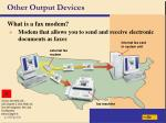 other output devices41