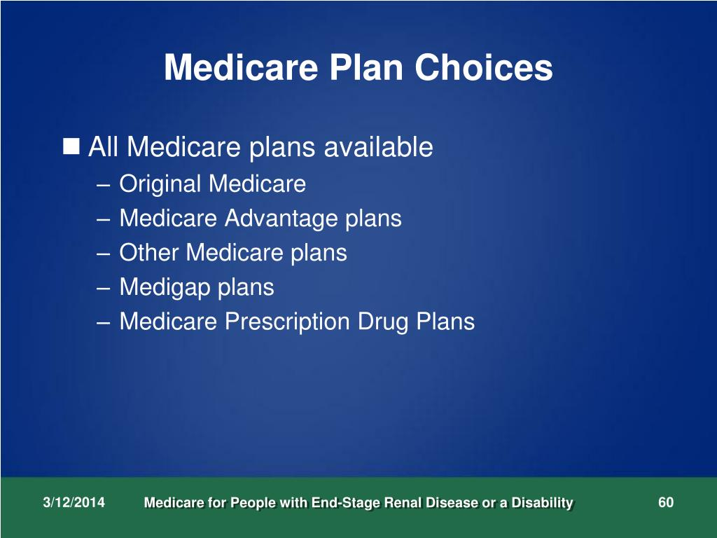 Medicare Plan Choices