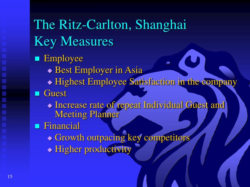 The Ritz-Carlton, Shanghai
