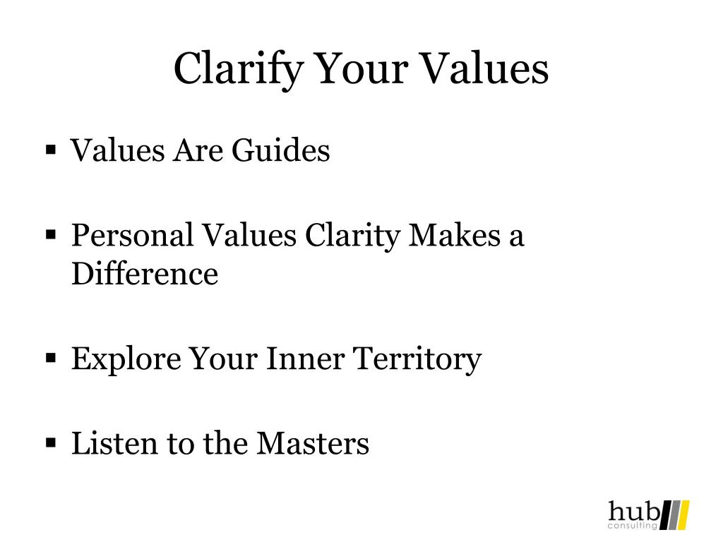 How To Find Your Values
