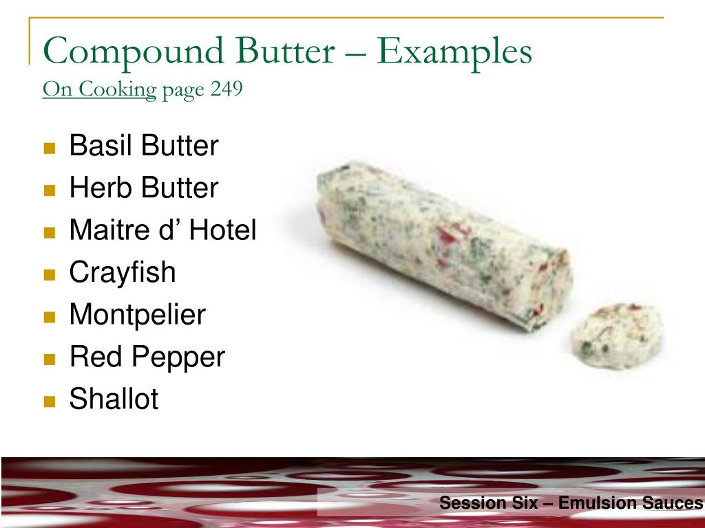 Compound Butter – Examples