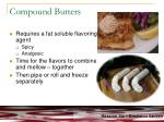 compound butters