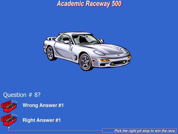 Wrong Answer #1