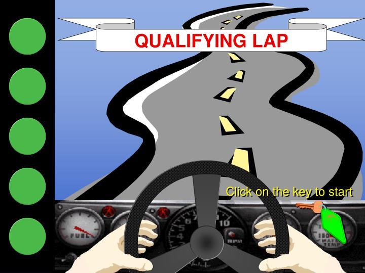 QUALIFYING LAP