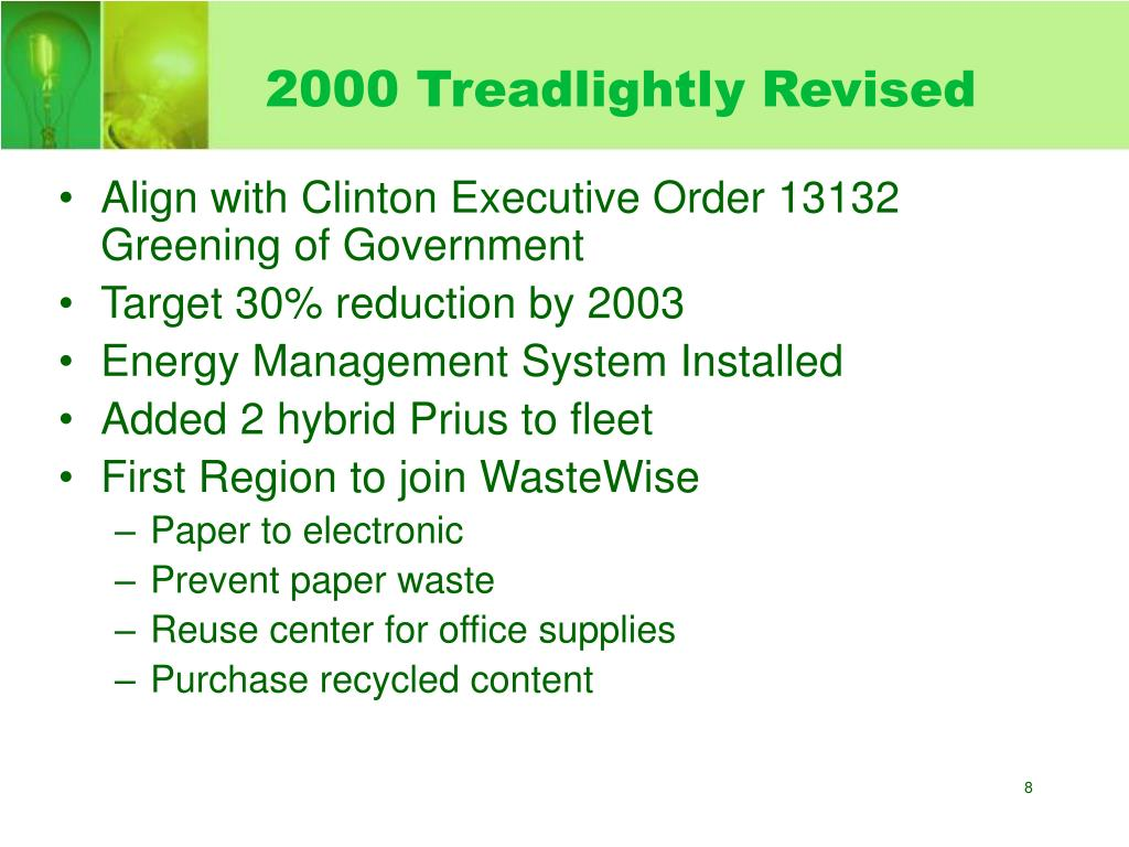 2000 Treadlightly Revised