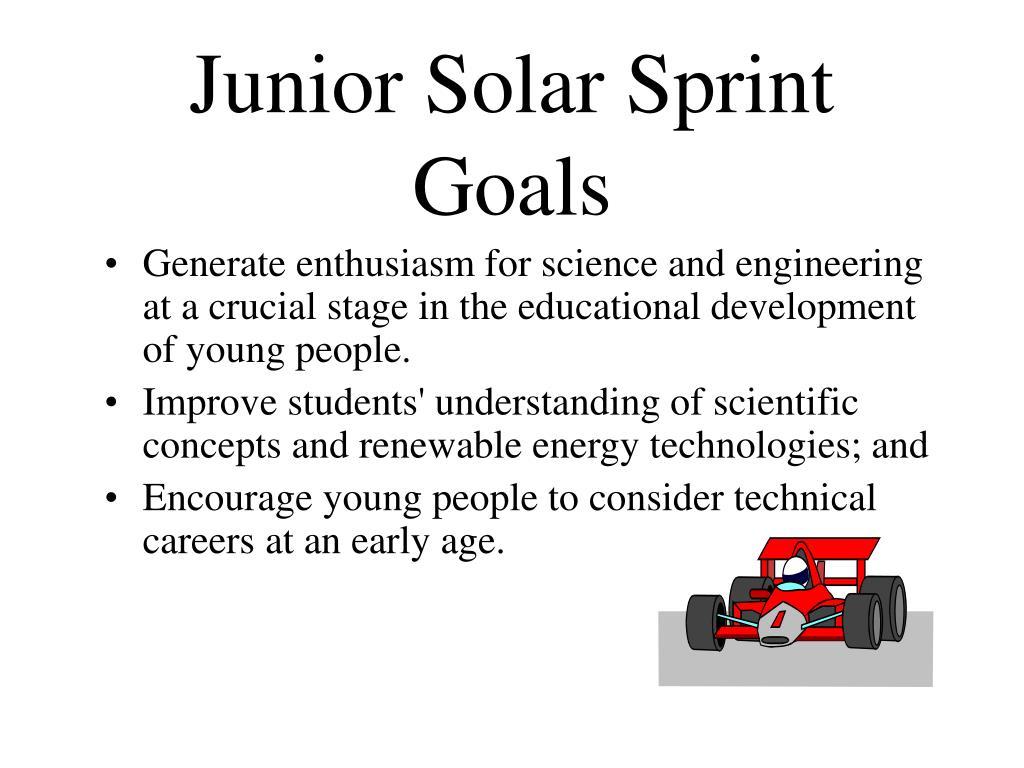 Junior Solar Sprint