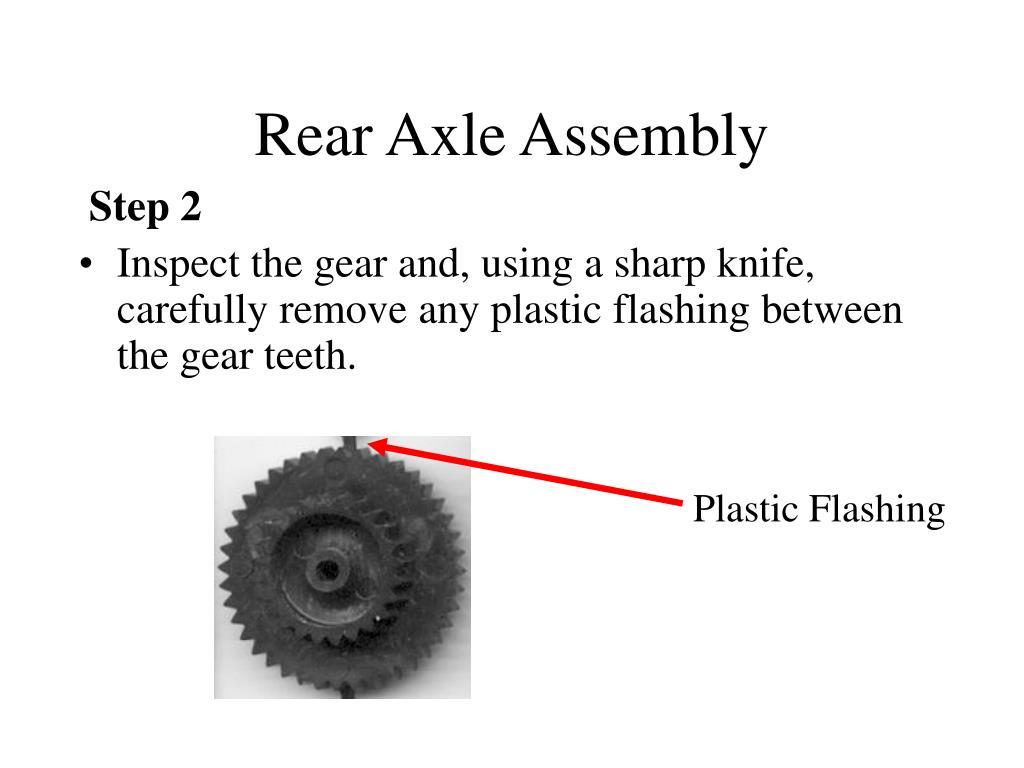 Rear Axle Assembly