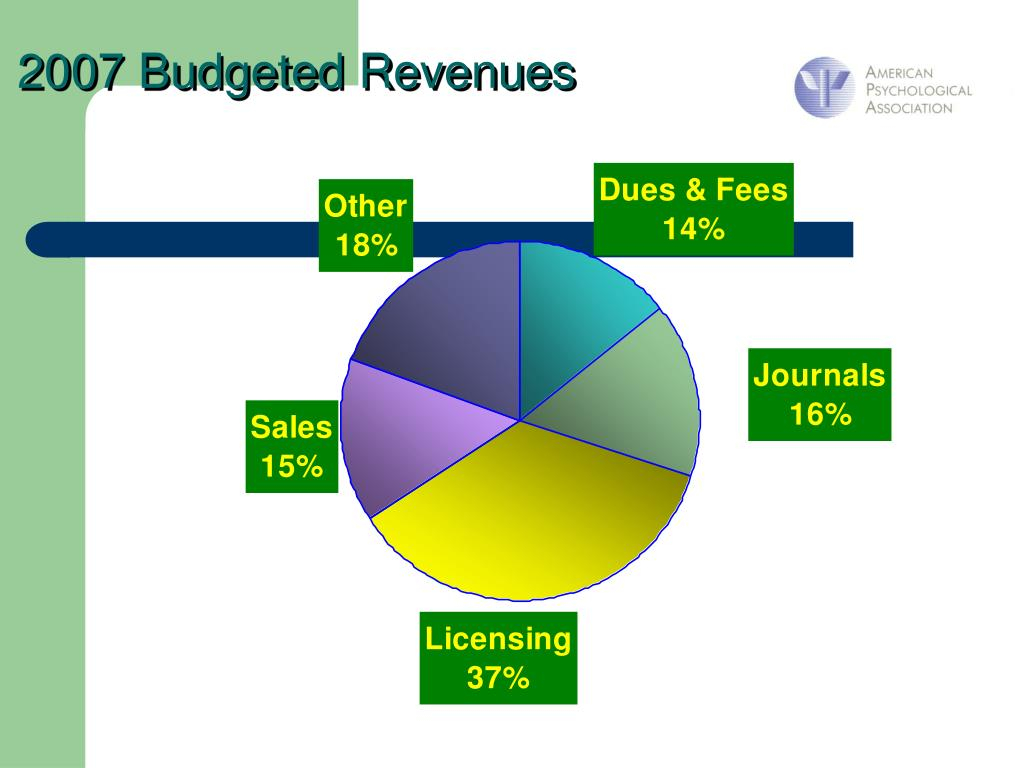 2007 Budgeted Revenues
