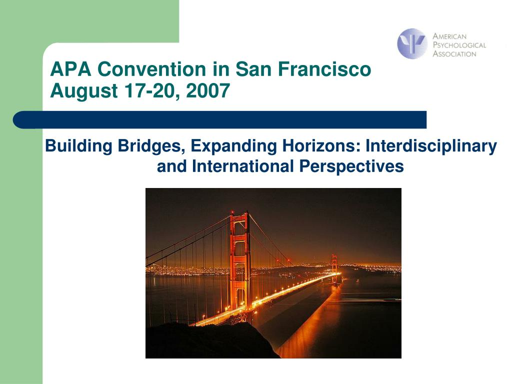 APA Convention in San Francisco