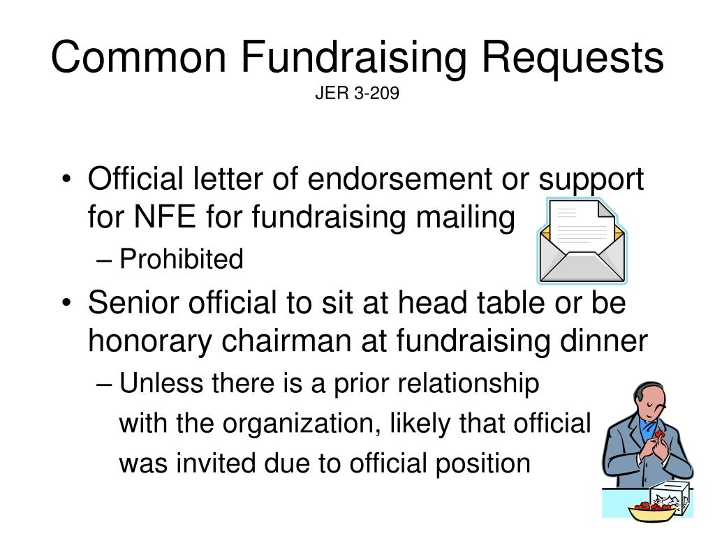 Common Fundraising Requests