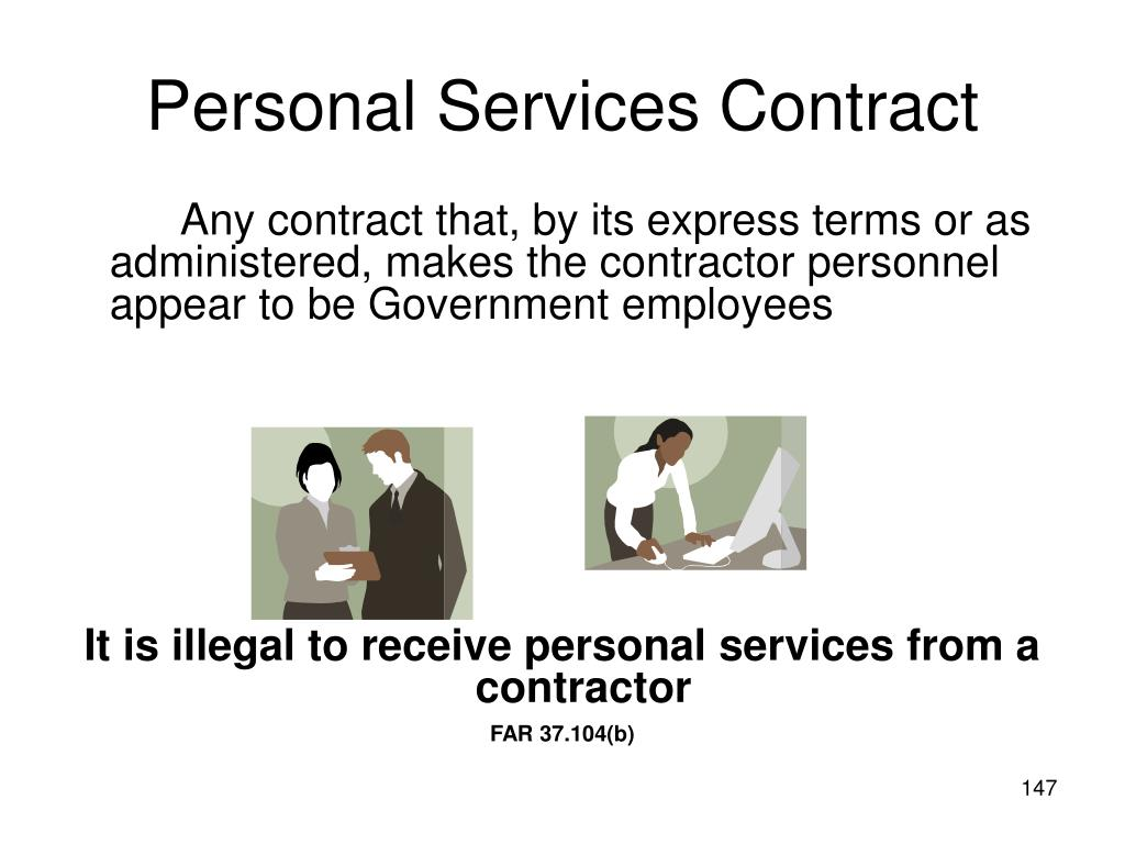 Personal Services Contract