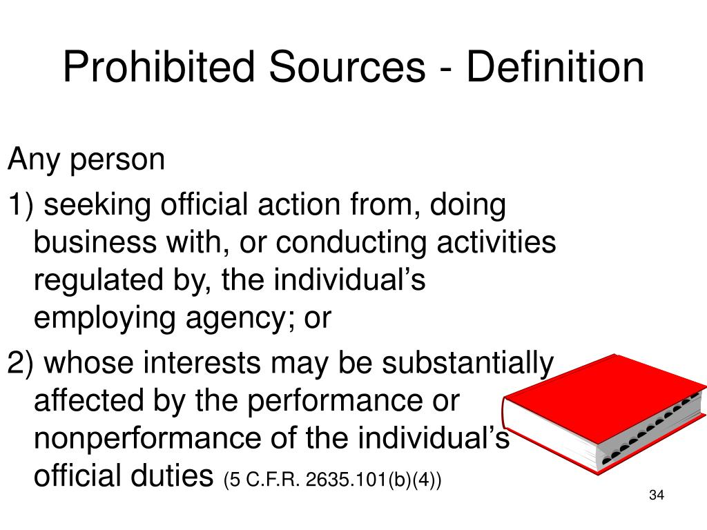 Prohibited Sources - Definition
