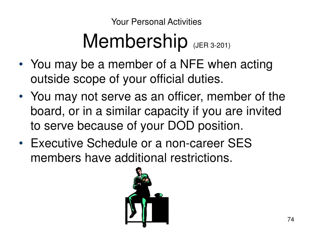 Your Personal Activities